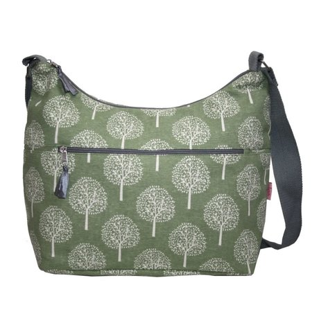 LUA Sling Bag with front zip Mulberry Tree 406
