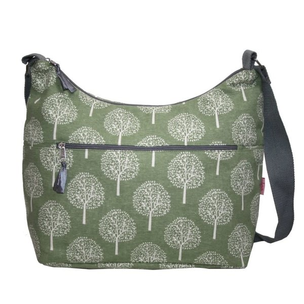 Sling Bag with front zip Mulberry Tree 406