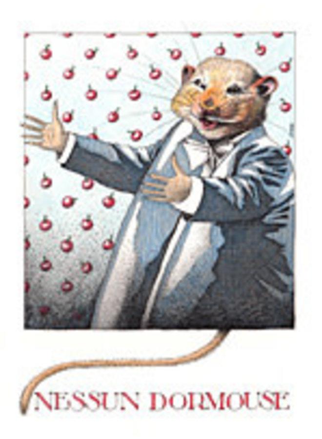 Nessun Dormouse card 812