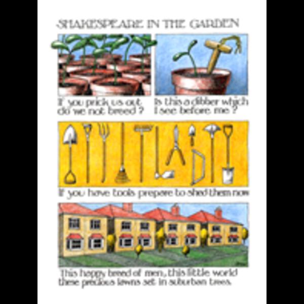 Shakespear in the Garden card 803