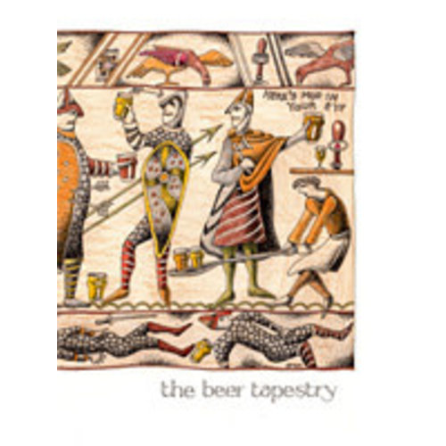 Simon Drew Designs The Beer Tapestry card 805