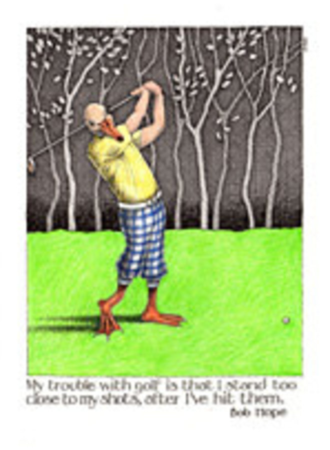 Trouble with Golf card 810
