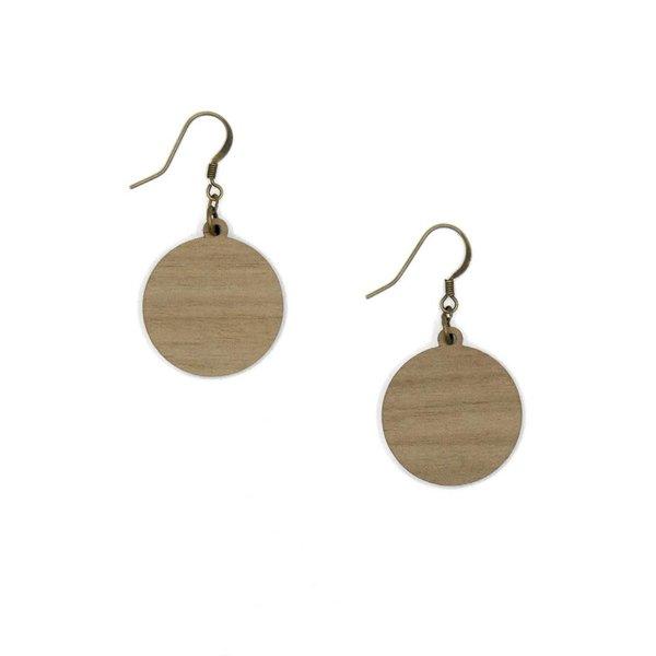 Sun Hook Earrings 014