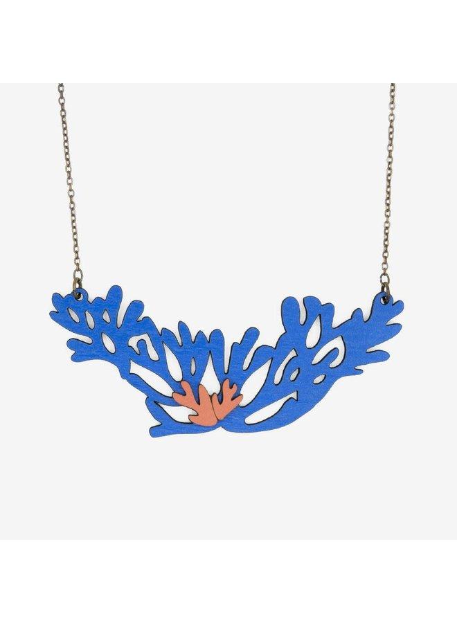Blue Field Sea Halskette 030