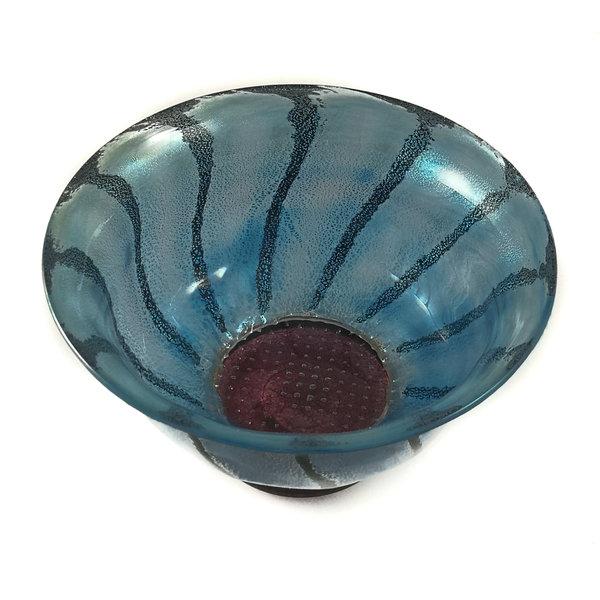 Daisy bowl blauw