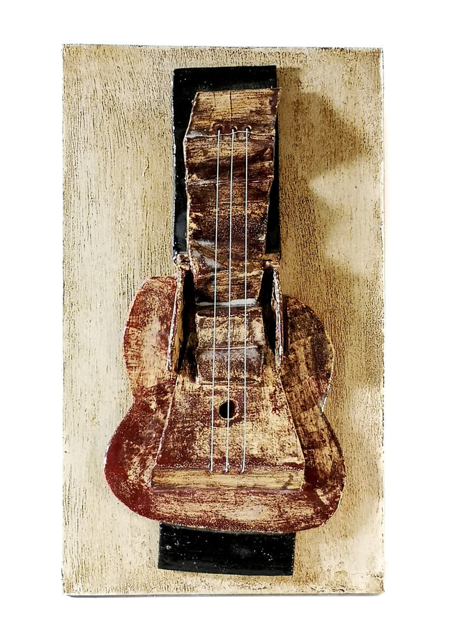 Guitar 1. after Picasso 1912 013