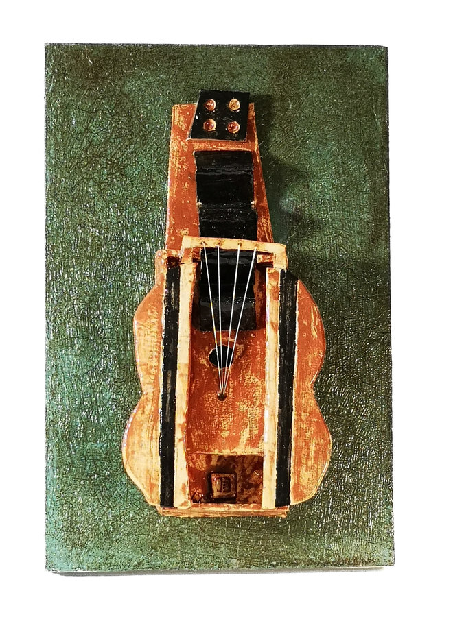 Guitar 2. after Picasso 1912 014