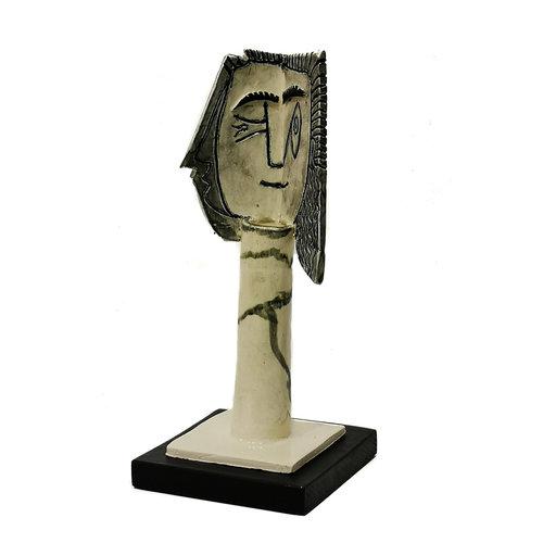 Peter Bielatowicz Cabeza de mujer 1. después de Picasso 1957011