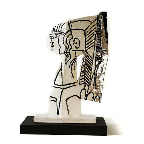 Peter Bielatowicz Sylvette 1 nach Picasso 1954 008