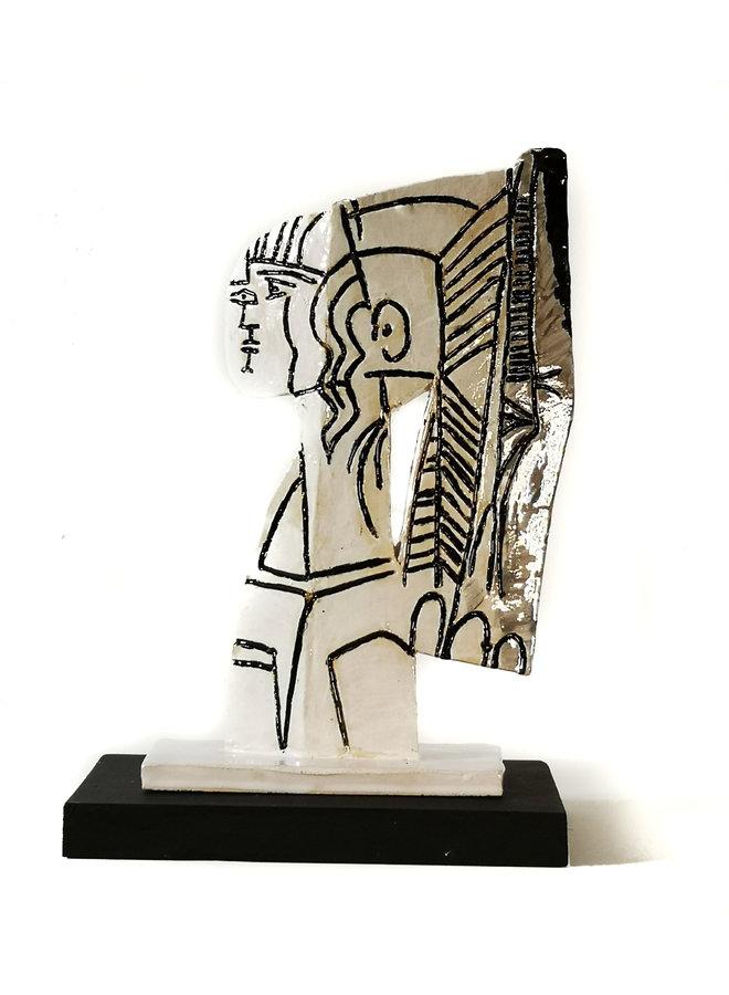 Sylvette 1 nach Picasso 1954 008