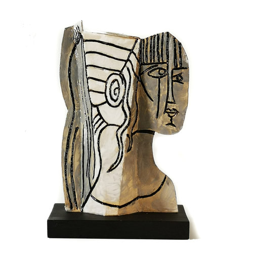 Peter Bielatowicz Sylvette 2 naar Picasso 1954009
