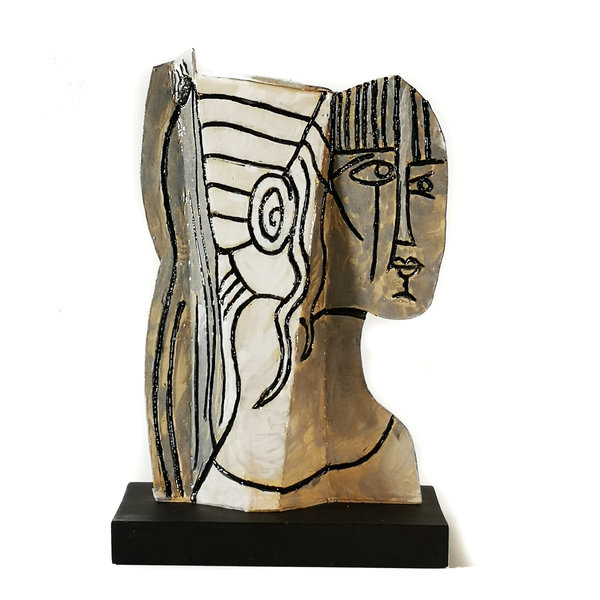 Sylvette 2 naar Picasso 1954009