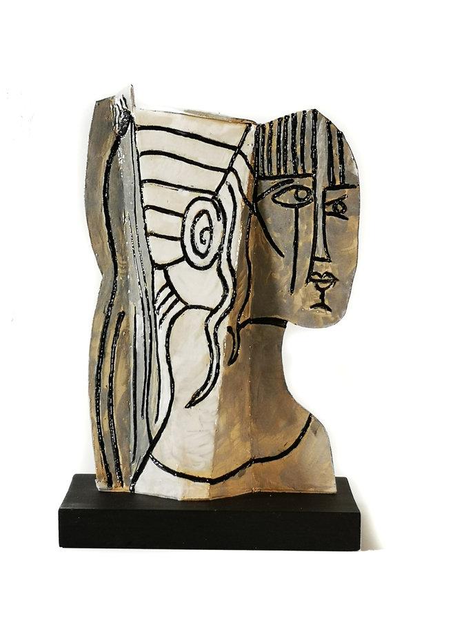 Sylvette 2 d'après Picasso 1954009