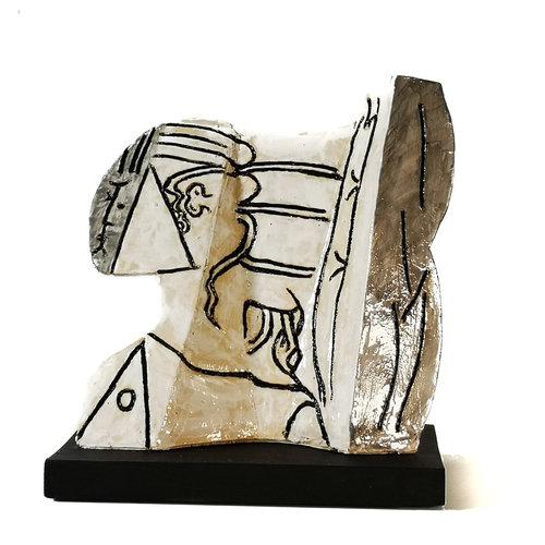 Peter Bielatowicz Sylvette 3 naar Picasso 1954010