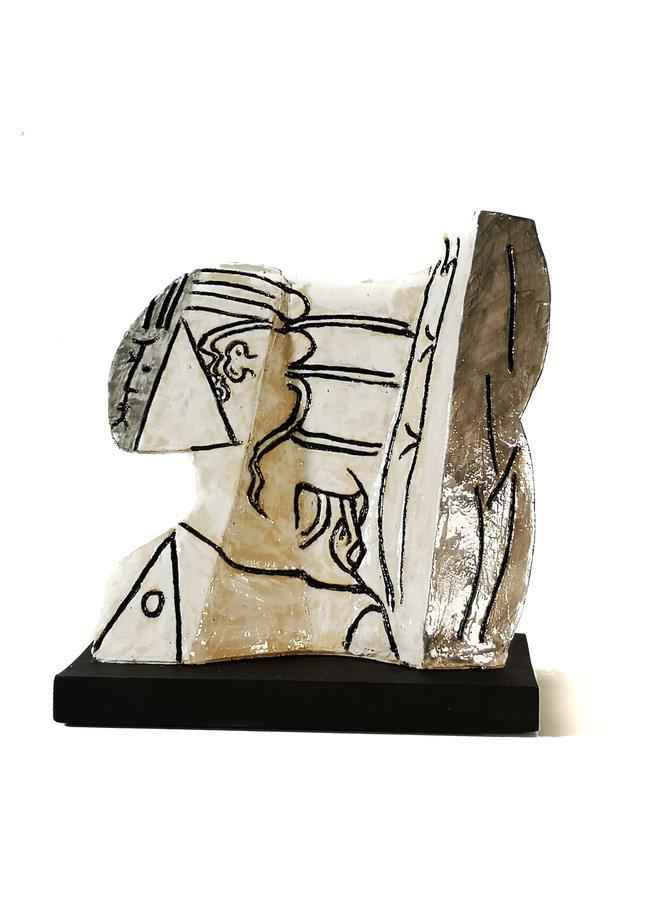 Sylvette 3 nach Picasso 1954 010