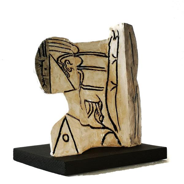 Sylvette 3 naar Picasso 1954010