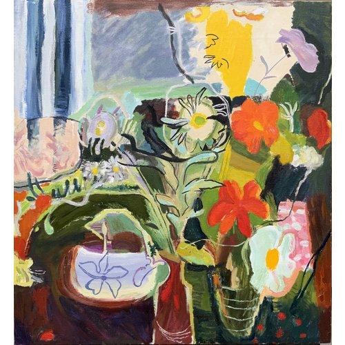 Mike Holcroft Blumen 1942 nach Ivon Hitchens 90
