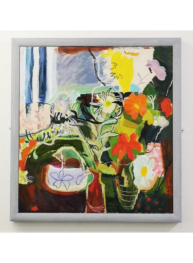 Blumen 1942 nach Ivon Hitchens 90