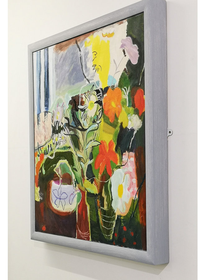 Flowers 1942 after Ivon Hitchens 90