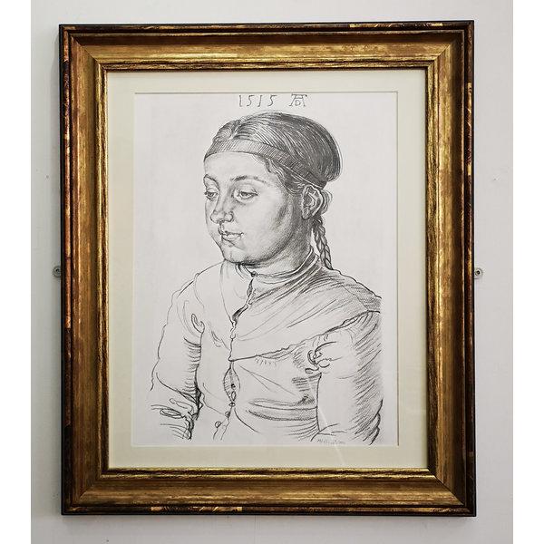 Portret van een meisje naar Albrecht Durrer 1515-77
