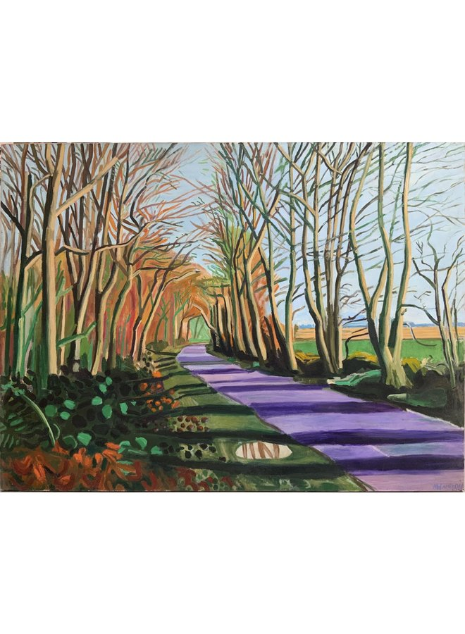 Woldgate, Crisp Morning, Januar nach Hockney 75