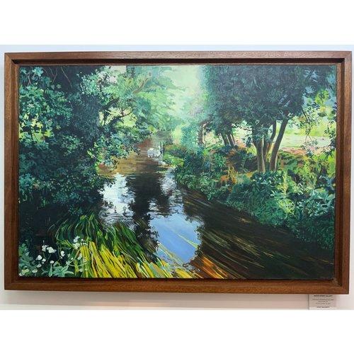 Mike Holcroft El río en Eashing, Guildford - copia después de Mike Holcroft 86