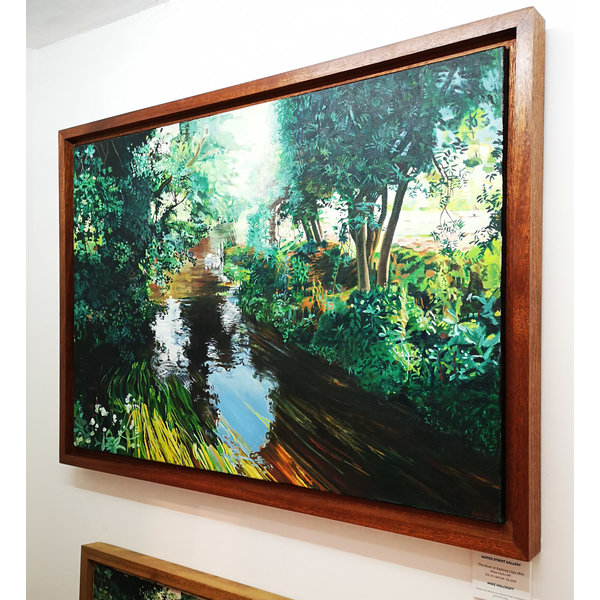 The River at Eashing, Guildford - kopie naar Mike Holcroft 86