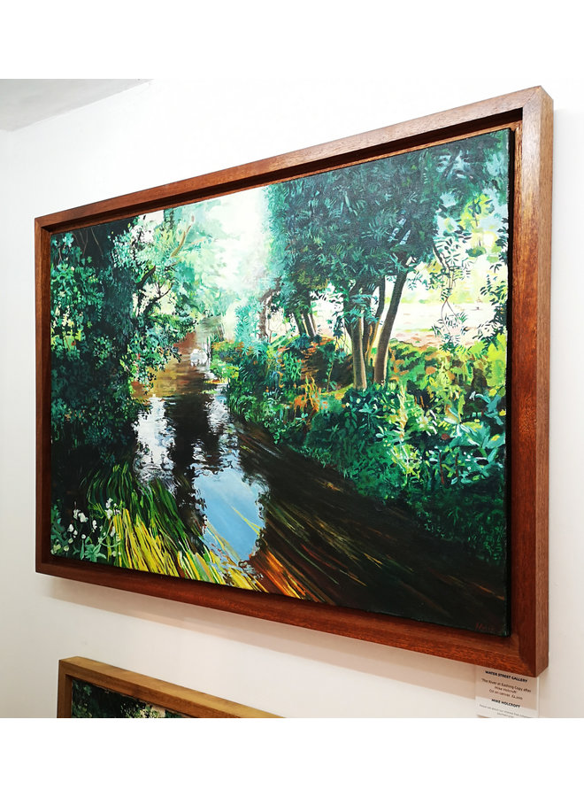 The River at Eashing, Guildford - Kopie nach Mike Holcroft 86