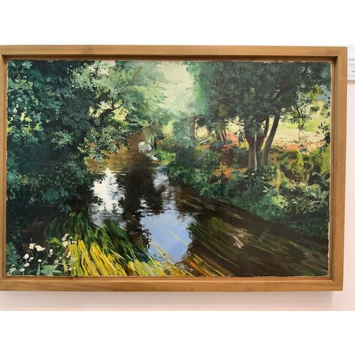 Mike Holcroft De rivier bij Eashing, Guildford 85