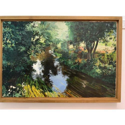 Mike Holcroft El río en Eashing, Guildford 85