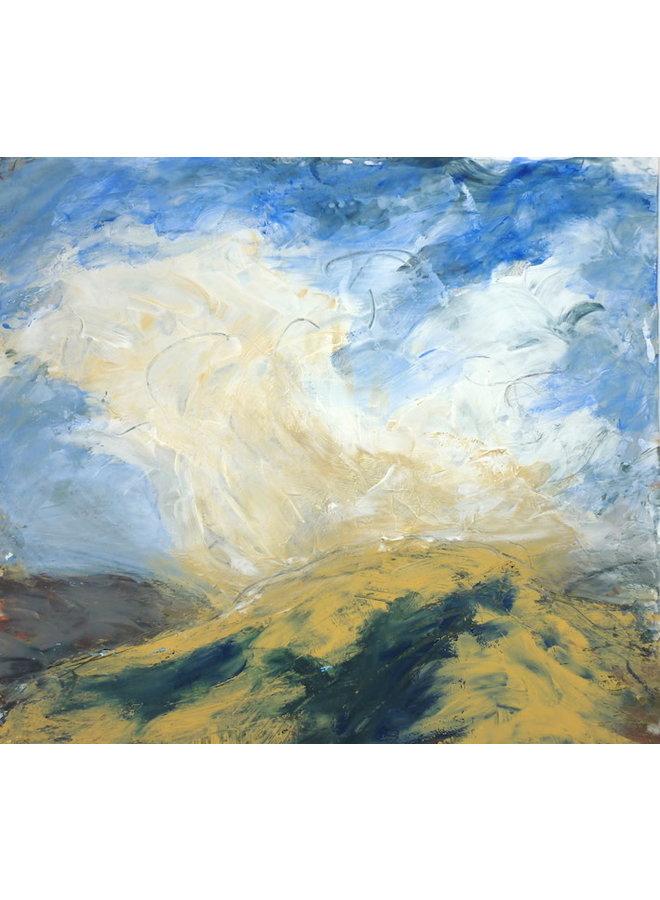 Unsichere Wolken - Mischtechnik 045