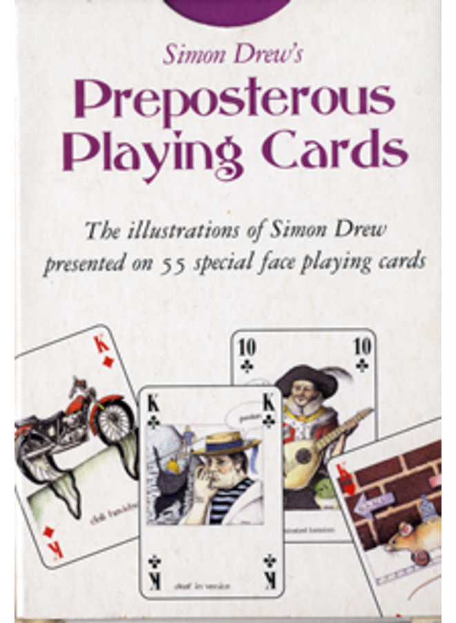 Preposterous special face Playing Card Pack