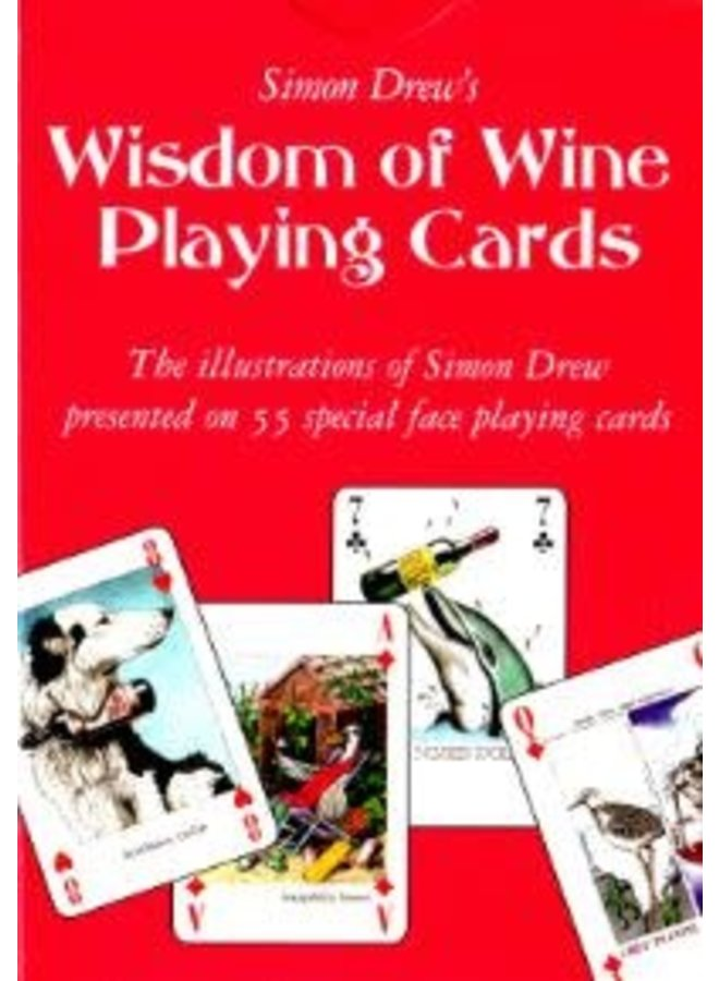 Wisdom of Wine special face Playing Card Pack
