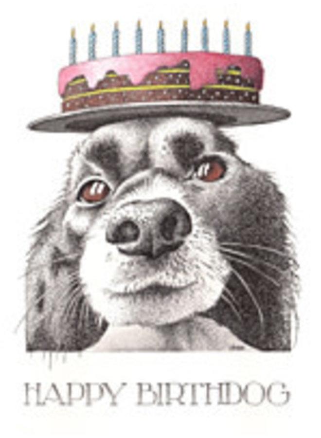 Happy Birthdog Card 823