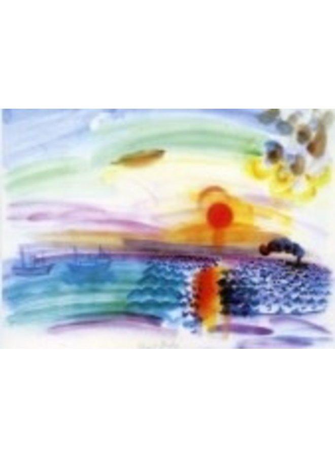 Sunset Card von Dufy