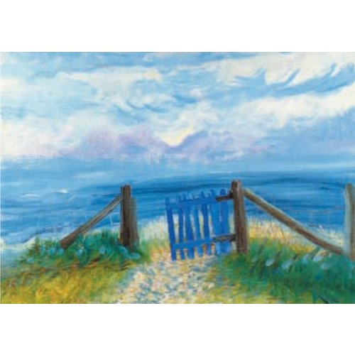 Artists Cards Gate to the Isles by Winifred Nicholson 180x 140mm card