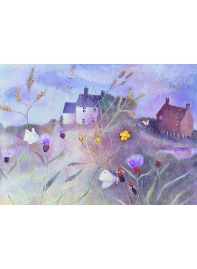 August Day not Forgotten by Tessa Newcomb card 180 x 140mm