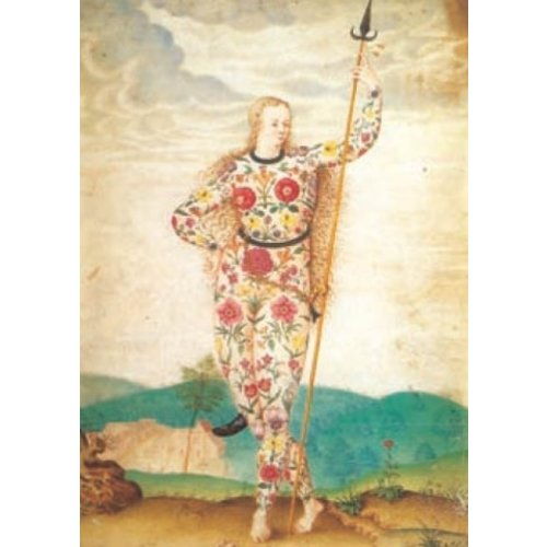 Artists Cards A Young Daughter of the Picts by Jacques le Moyne   140 x 180mm card