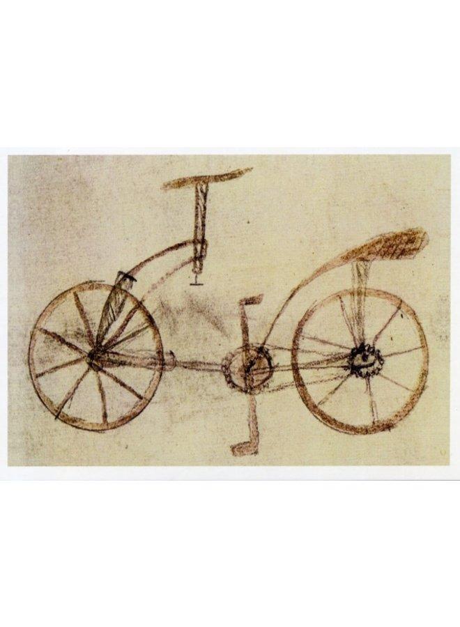 Fahrraddesign 1493 von Da Vinci 180 x 140 mm Karte