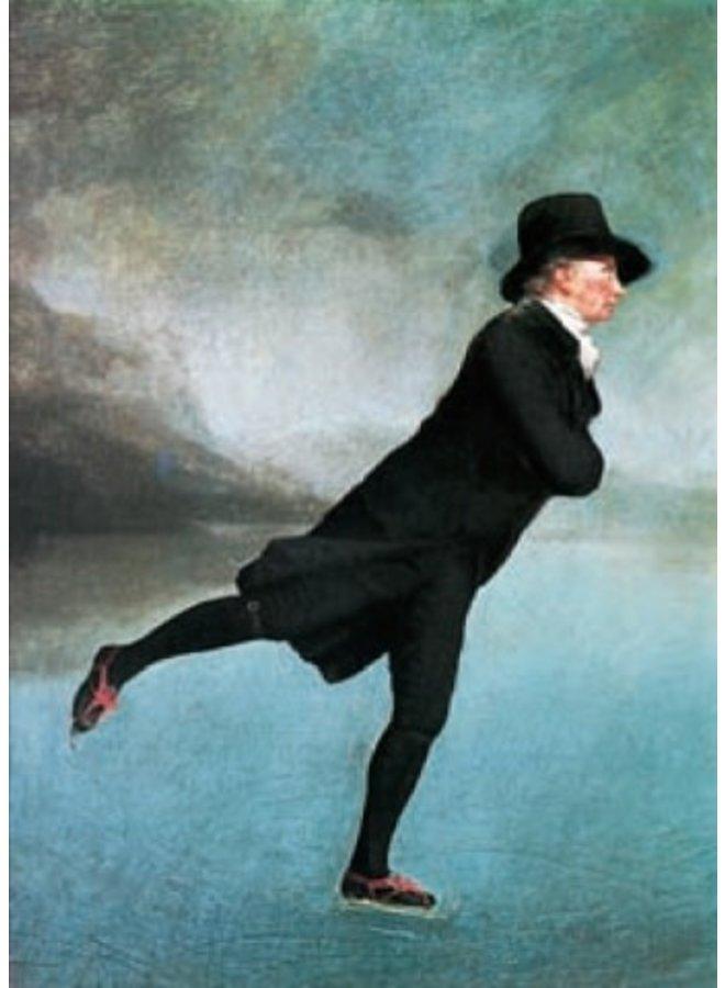 Die Rev. Robert Walker Skating von Henry Raeburn 140x 180mm Karte