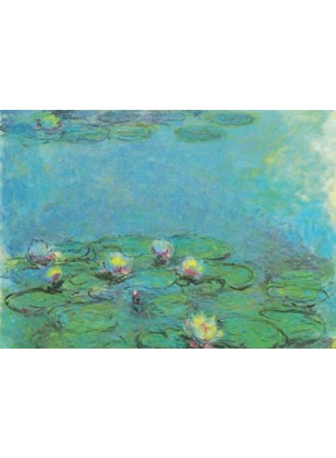 Seerosen von Monet 180x 140mm Karte