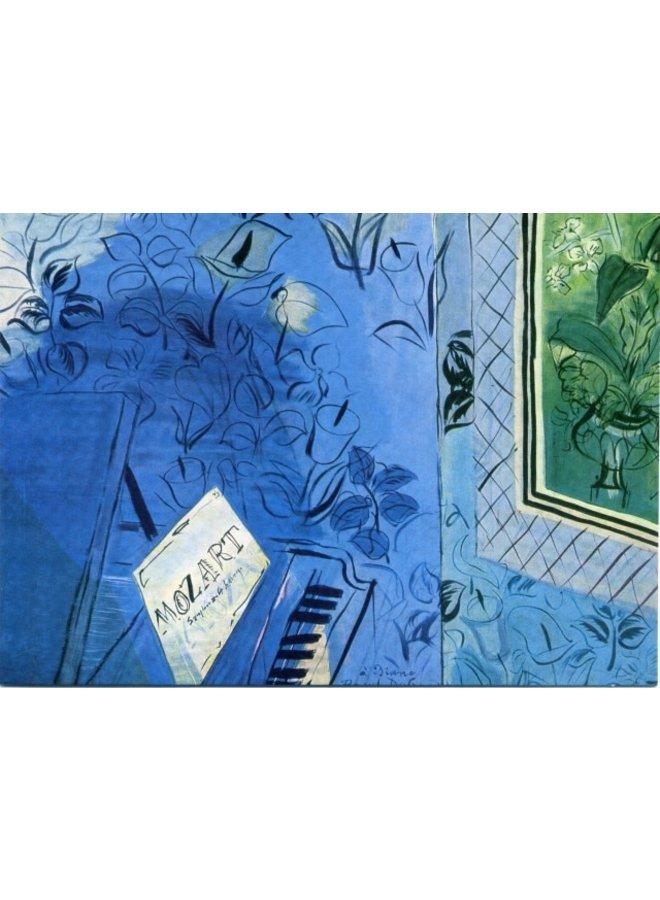 Hommage an Mozart von Duffy 180x 140mm Karte