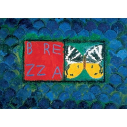 Artists Cards Conjunción Jersey Tiger de Joe Tilson 180x 140 mm tarjeta