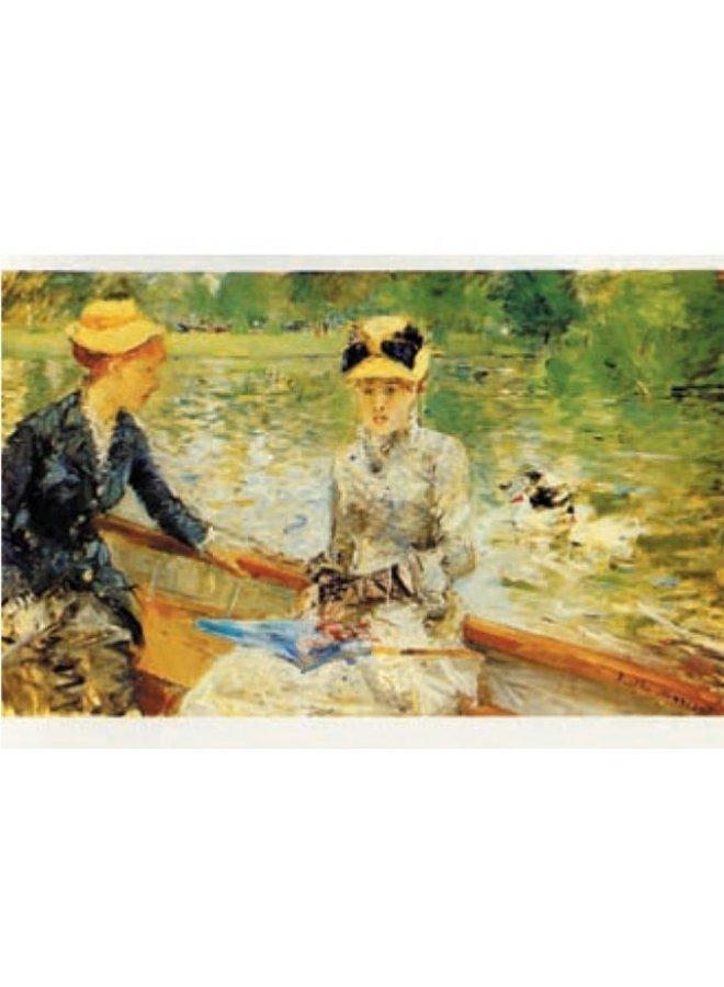 Summers Day von Berthe Morisot 180x 140mm Karte