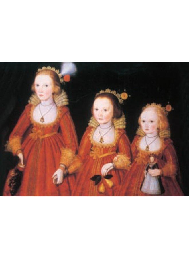Drei junge Mädchen von Robert Peake 180x 140mm Karte