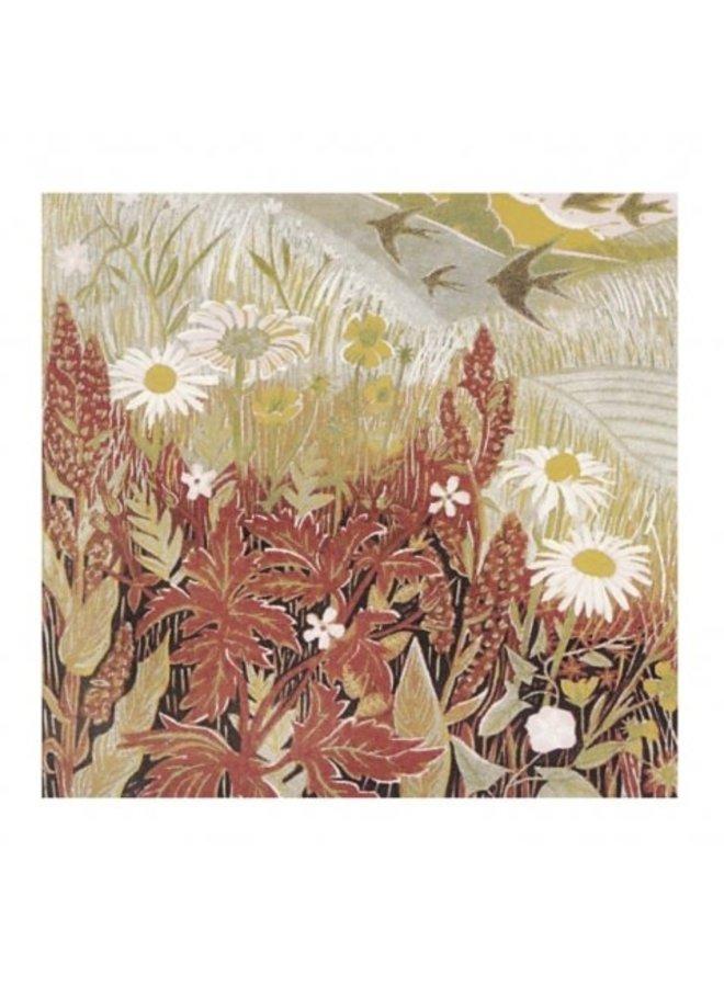 Wayside Summer von Annie Sudan 140x140mm Karte