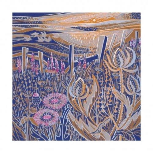 Artists Cards Seed Heads door Annie Soudain kaart