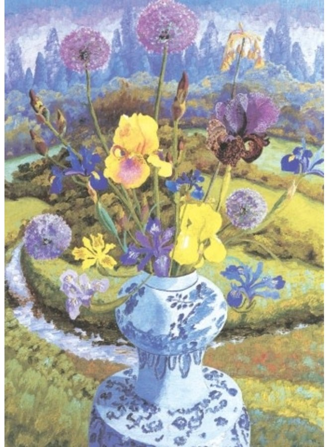 Iris Heralding von Cedric Morris 140x 180mm Karte