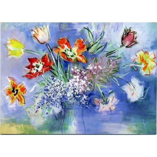 Artists Cards Tulipanes de Dufy tarjeta 180x 140mm