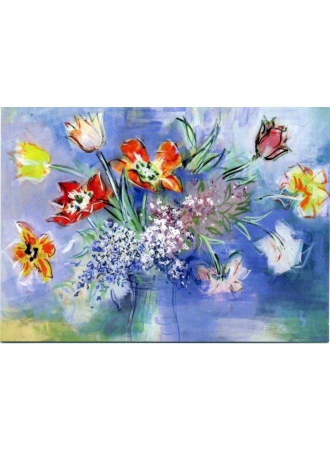 Tulpen von Dufy 180x 140mm Karte